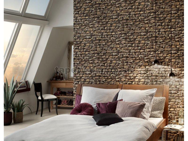 9079 12 tapety na stenu woodn stone 907912 tapety. Black Bedroom Furniture Sets. Home Design Ideas